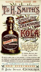 Vintage Victorian Advert for T & H Smith's Sparkling Champagne Kola, Edinburgh, Scotland 1894 (CharmaineZoe) Tags: vintage advertising typography scotland ad 1800s victorian advertisement engraving advert