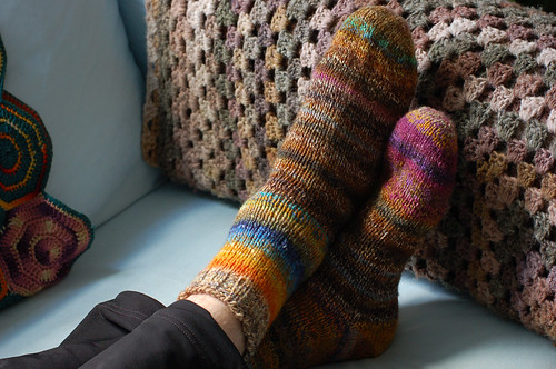 Handspun Monster Socks