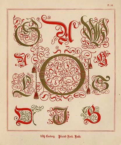 012- Medieval Alphabets and Initials 1886- F.G. Delamotte- Copyright 2006 illuminated-book.com& libros-iluminados.com