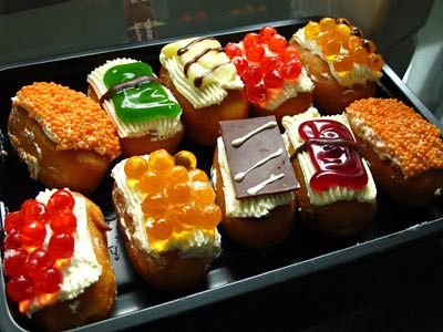 cute pastries
