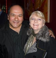 Greg Hernandez and Alison Arngrim