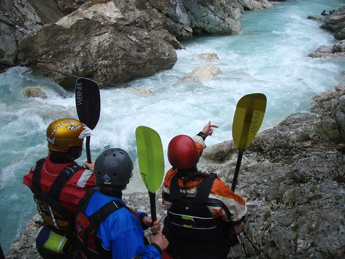 Kayak Guiding on Soca