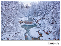 Winter Waterfall (Switzerland) (Eric Rousset) Tags: longexposure winter snow river landscape photography switzerland waterfall stream europe suisse hiver wideangle rivire paysage canonef1740mmf4lusm snowscape slowshutterspeed gstaad 2011 adobephotoshopcs3 hoyand8 canoneos5dmarkii ericrousset