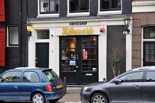 Coffeeshop Siberie à Amsterdam - Photo de FaceMePLS@Flickr