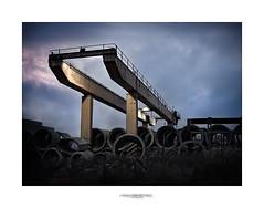 Paisajes Industriales -Puente Gra- (Sergio Snchez Prez) Tags: leica paisajes planta sergio puente lumix panasonic nave sanchez perez tubos industriales gra hormign 2011 conducto canalizacin dmcfz50 photoshopcs5 adobeligthroom3
