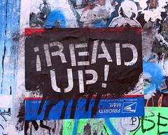 HUGE on Rivington Street (LoisInWonderland) Tags: newyorkcity streetart graffiti sticker stickerart lowereastside postal