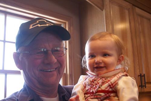 Grandpa & Lilah