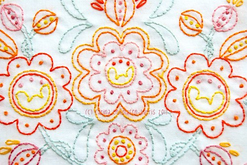 Sweet Posy - embroidery pattern