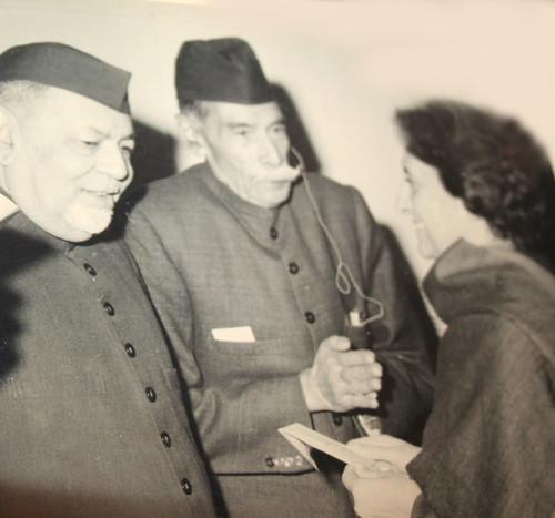 Indira Gandhi visit