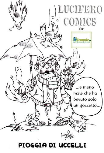 Econote- Pioggia Uccelli blog