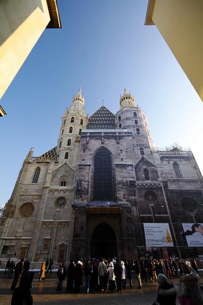 冬遊.印象.奧地利-維也納地標建築-聖史蒂芬大教堂