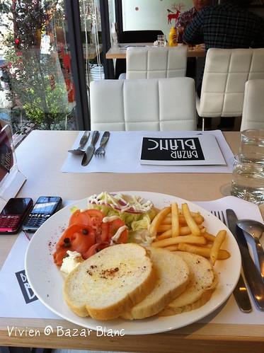 陽光鮭魚套餐