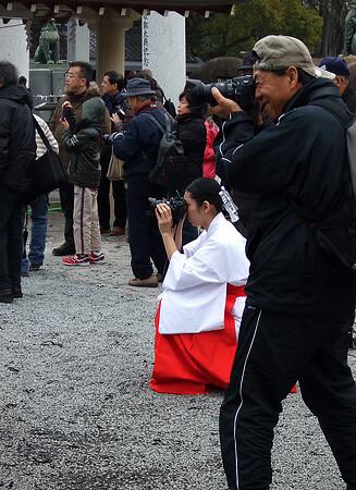 広島護国神社 とんど 画像35