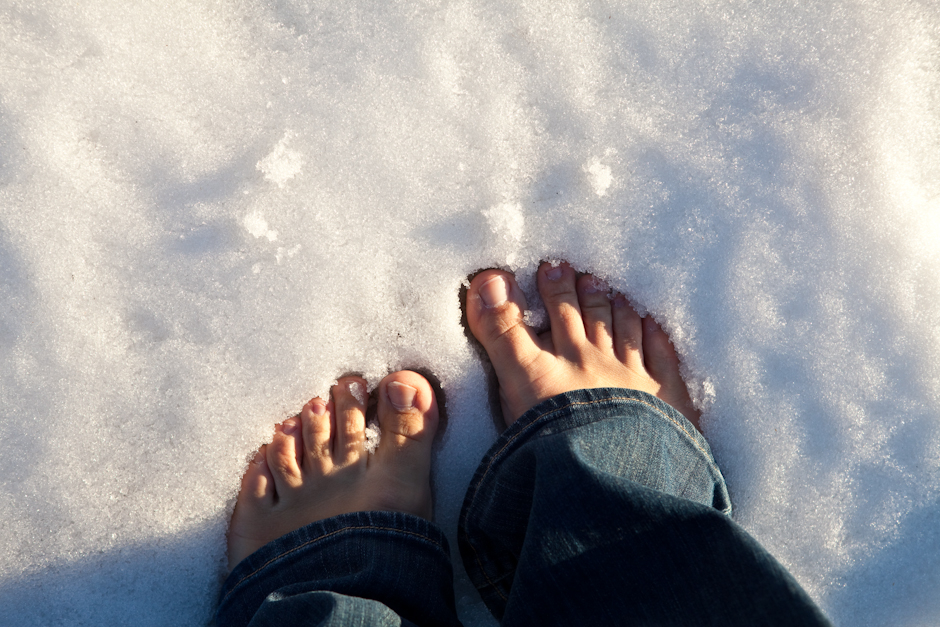A New Meaning: Cold Feet