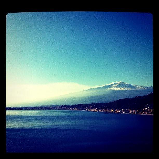 L'Etna vista da Taormina
