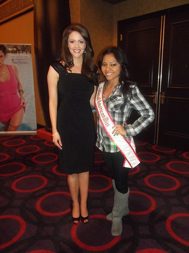 Lilly Rodriguez, NAM National Queen, with Jennifer Barry, Miss America 2006