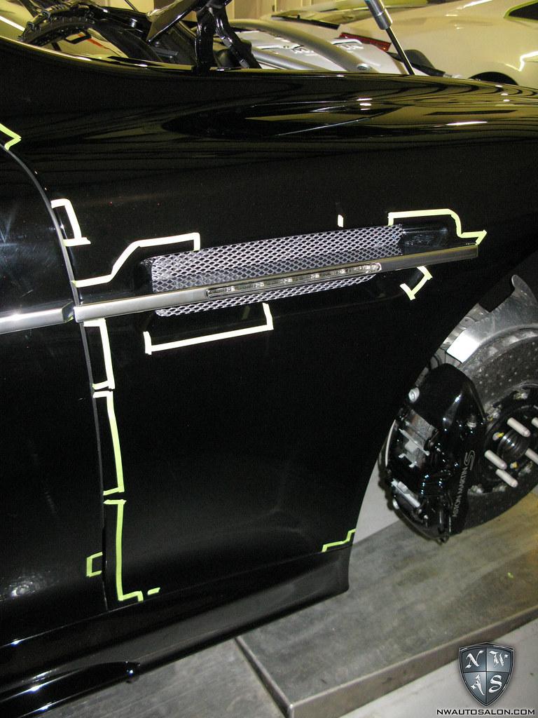 Seattle Auto Detailing Clear Bra Aston Martin DBS