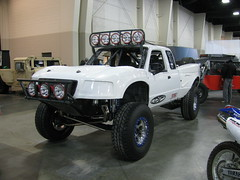 Ranger Race Truck (Eyellgeteven) Tags: ford truck lights ranger offroad suspension pickup modified baja racetruck prerunner pushbar bigtires baja1000 rollcage desertrace desertracing offroadracing desertracer racevehicle