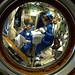 Preparing for Friday's spacewalk