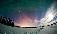 We Three Kings (davebrosha) Tags: winter canada landscape tour north canadian aurora