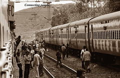 Connecting people (Anindya Roy Photography) Tags: indianrailways visakhapatnam irfca 23302 vskp wag5 kirandul