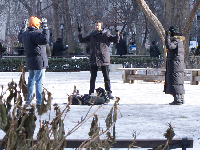 Om, Madison Square Park