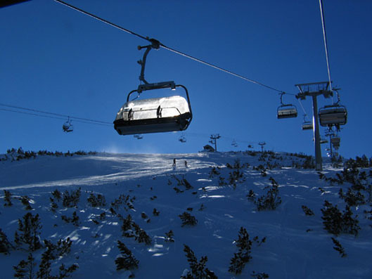 Bansko ski snowboard Bulgarie