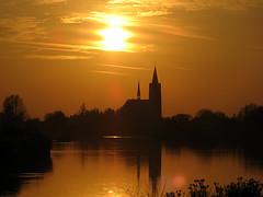 IMG_2880 (imanh) Tags: sunset church zonsondergang kerk vinkeveen iman heijboer imanh