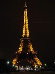 Tour Eiffel (Valina's Photography) Tags: paris travels europa cielo toureiffel luci colori viaggi notte sonycybershot parigi