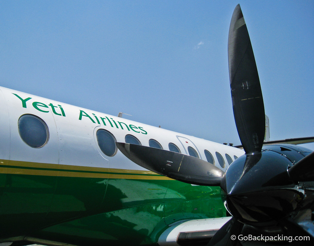 Yeti Airlines airplane