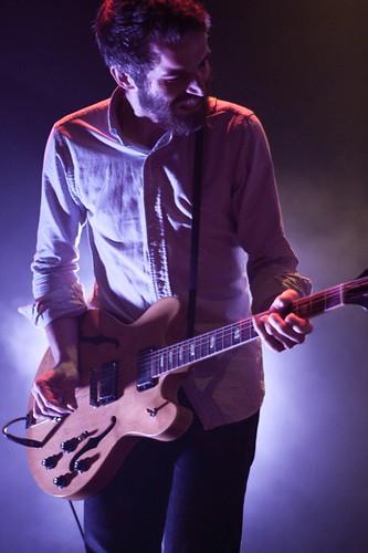 Guitarist Josh Hooks