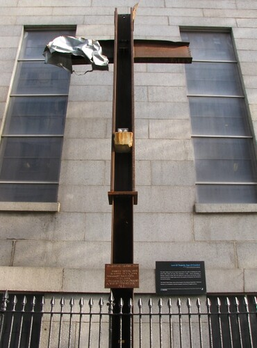 World Trade Centre Cross Memorial