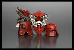 Lothar's Gear (Geoshift) Tags: lego 40k warhammer warhammer40k customminifig legocustomminifig amazingarmory warhammerlego unitedarmory