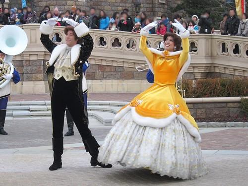 プリンセスの社交ダンス