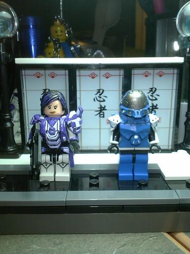 Custom minifig Emile's Armor