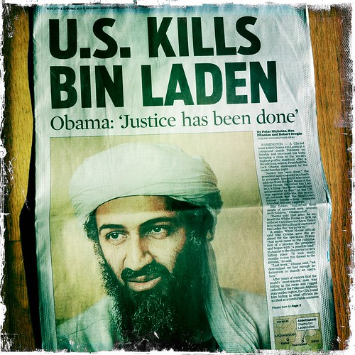 U.S. Kills Bin Laden by swanksalot