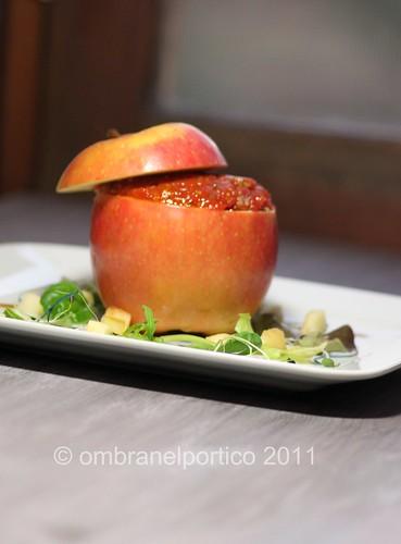 Tartare nella mela