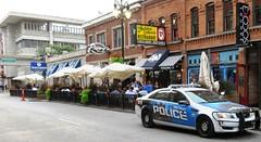 Greektown, Detroit, MI (Hear and Their) Tags: greektown pegasus restaurant detroit michigan golden fleece exodus lounge police car