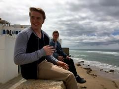 Mason (Lindsay Shanley) Tags: portrait morocco asilah boys men adventure coast ocean contrast white black beach beauty