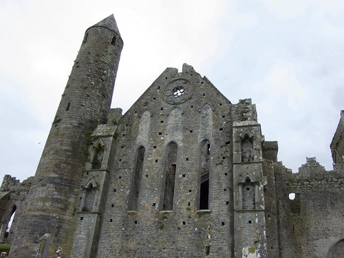 Cathedral remains, Rock of Cashel