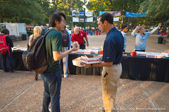 Week in Photos - 052 (Ole Miss - University of Mississippi) Tags: 2016 skb2926 coffee cop upd police union plaza students friend friendly doughnut donut breakfast homecoming dondouglas university ms usa