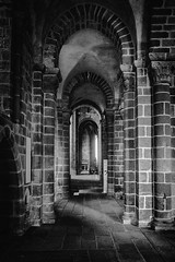 Abbey Mont Saint Michel (Rayoflightbe) Tags: normandi travel normandy abbey mont saint michel black white architecture