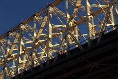 Queensborough Bridge 2 (Roosevelt Island/NYC) (chedpics) Tags: newyork rooseveltisland 59thstreet queensborough bridge