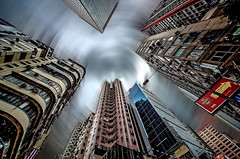 Hong Kong 1 (kruser1947 (all killer no filler)) Tags: hongkong highrise skyscraper hdr