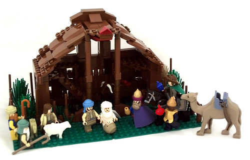 Resultado de imagem para Presépios de Lego