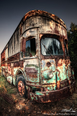 Rusty RV (Evan Gearing (Evan's Expo)) Tags: bus yard junk nikon rust texas rusty sigma rv salvage 1020 hdr belton d90 recreationalvehicle evangearingphotography evansexpo