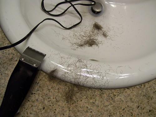 Shaving Mess