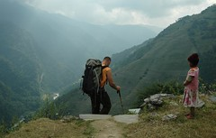 Annapurna Sanctuary (Ziemek T) Tags: nepal hiking himalayas riceterraces annapurnasanctuary