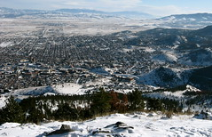 Helena,Montana from Mount Helena (montanatom1950) Tags: city winter snow mountains montana parks views helena mounthelena helenamontana