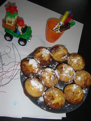 Muffins de Leite